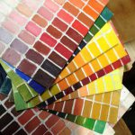 Paint Color Wheel House