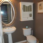 Paint Colors Bathrooms Without Windows Grey Color Ceramics Wall Layers Square