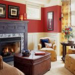 Paint Colors Living Room Walls Fireplace Home Interior