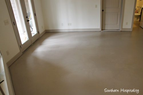 Paint Concrete Floor Southern