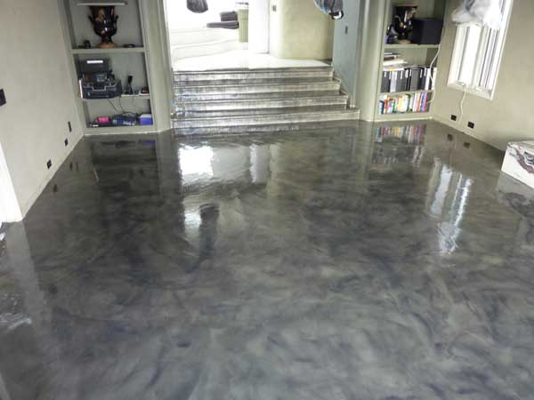 Paint Concrete Floors Detailed