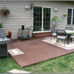 Paint Concrete Patio Diy Patios Home Design Ideas Kxp
