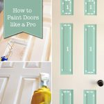 Paint Doors Professional Way Pretty Handy