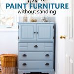 Paint Dresser Without Sanding
