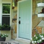 Paint Exterior Door Shut