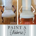 Paint Fabric Chair Chalk Sincerely