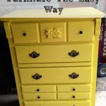 Paint Furniture Easy Way Turned Old Dresser Into Beautiful