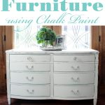 Paint Furniture Using