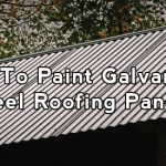 Paint Galvanized Steel Roofing Panels Home Painters