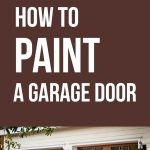 Paint Garage Door Making Diy