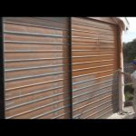 Paint Garage Door Painting Using Airless Spray Gun