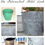 Paint Get Galvanized Metal Look Recreated