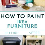 Paint Ikea Furniture Becoming