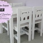 Paint Ikea Laminate Furniture Tutorial Smashed Peas