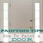 Paint Interior Door Home Decorating Painting