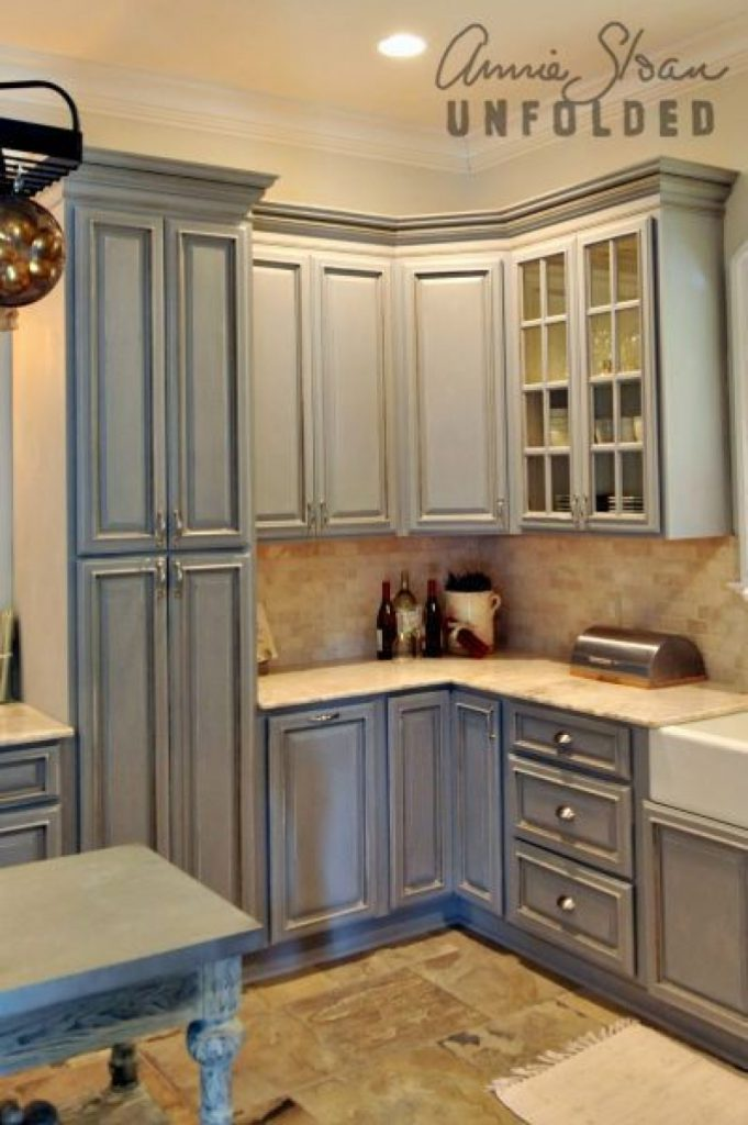 Paint Kitchen Cabinets Chalk Annie Painting
