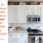 Paint Kitchen Cabinets White Casual