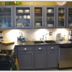 Paint Metal Cabinets Kitchen Home Design