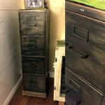 Paint Metal Cabinets Painted Filing Cabinet Ideas Nice Chalk