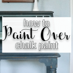 Paint Over Chalk Lost