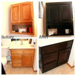 Paint Over Stained Wood Before After Basics Whitewash