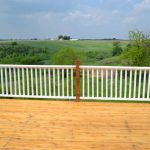 Paint Porch Rails Stain New Deck
