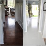 Paint Prefinished Hardwood