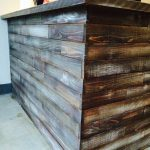 Paint Stain Bar Look Like Weathered Wood