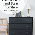 Paint Stain Furniture Videos Weathered