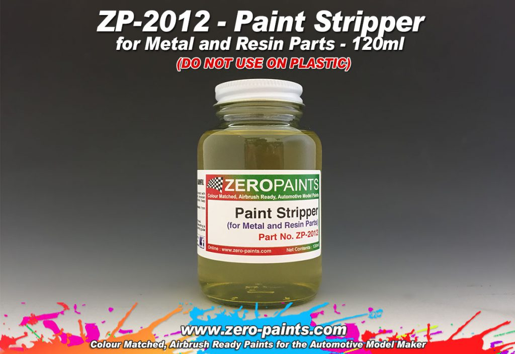 Paint Stripper Metal Resin Zero