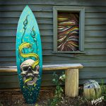 Paint Surfboard Step
