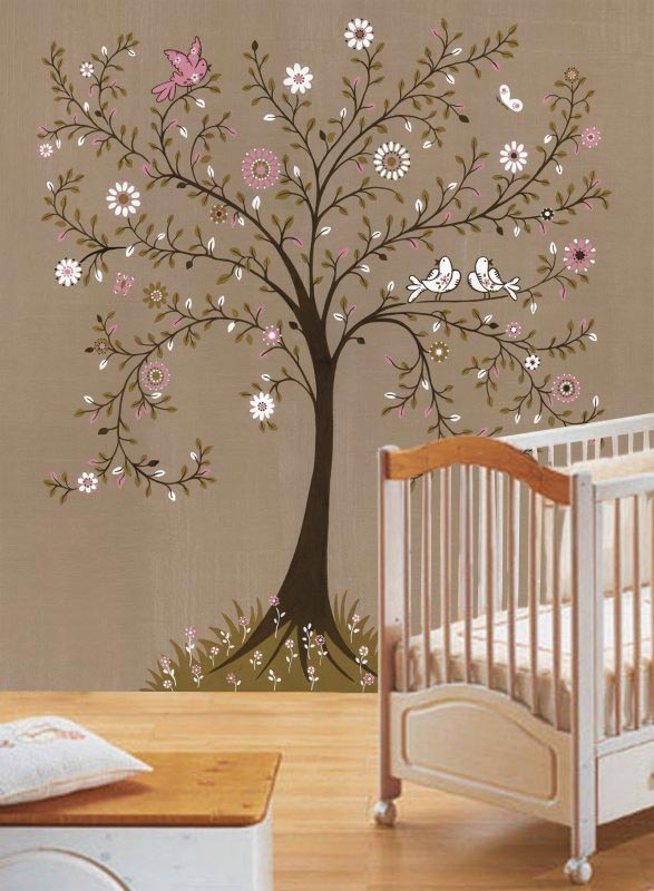 Paint Tree Mural Off