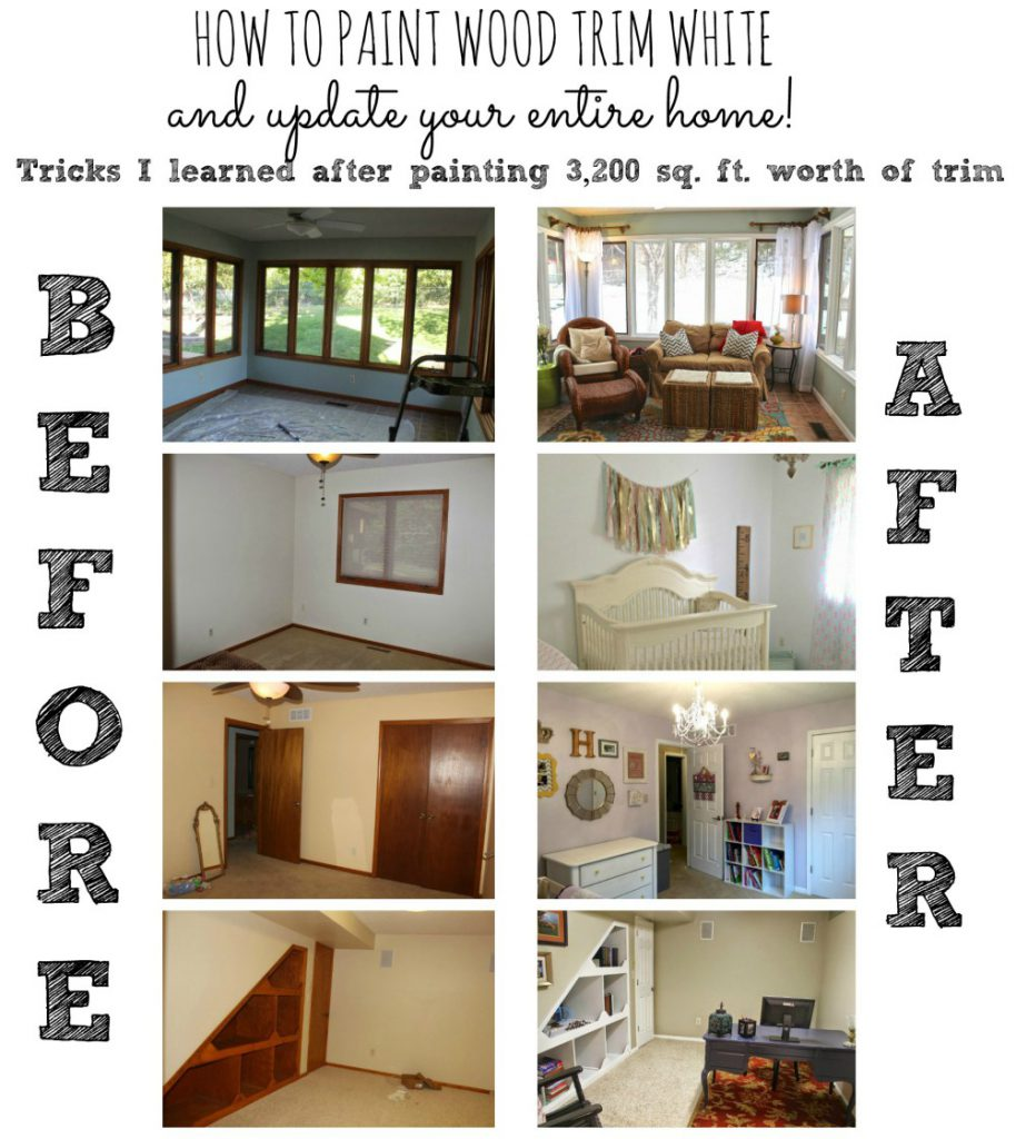 Paint Trim White Method Painting Whole Home