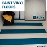 Paint Vinyl Floors Hand Without