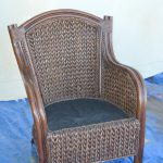 Paint Wicker Furniture Quickly Easily