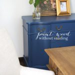 Paint Without Sanding Furniture Cabinets