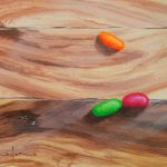 Paint Wood Effect Acrylic Art