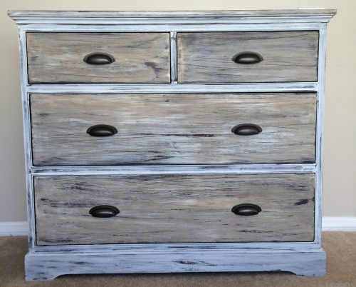 Paint Wood Look Like Weathered Restoration Hardware