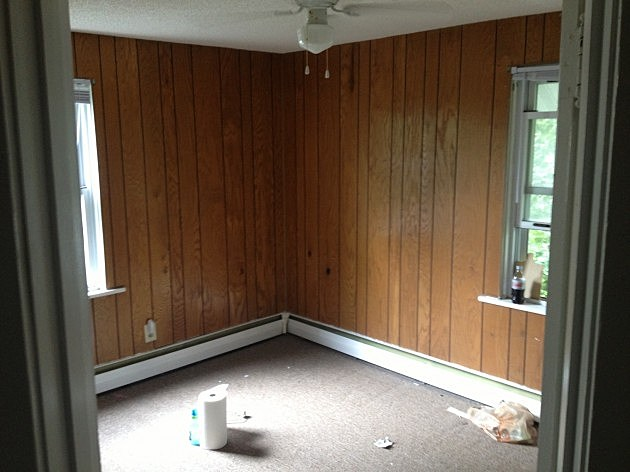 Paint Wood Paneling Amazing Exceptional Over