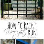 Paint Wrought Iron All