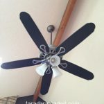 Paint Your Ceiling Fan Without Removing