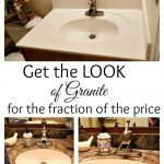 Paint Your Counter Tops Look Like Granite Fraction Price