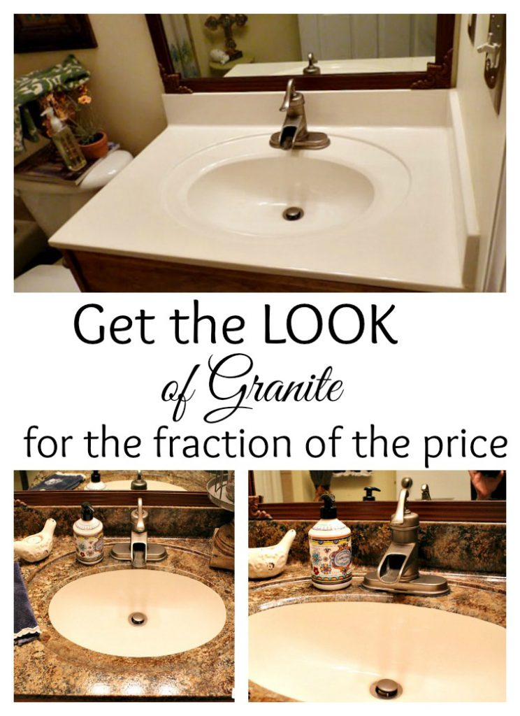 Paint Your Countertops Look Like Granite Fraction Price