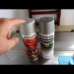 Paint Your Motor Home Stove Range Vent Hood