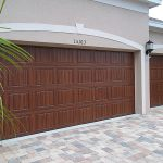 Paint Your Own Garage Door Look Like Wood Everything Create