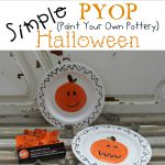 Paint Your Own Pottery Aka Pyop Halloween