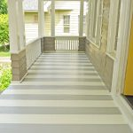 Paint Your Porch Stripes Creatively Living