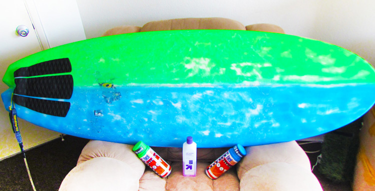 Paint Your Surfboard