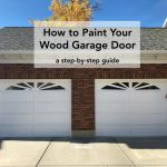 Paint Your Wood Garage Door Purdy