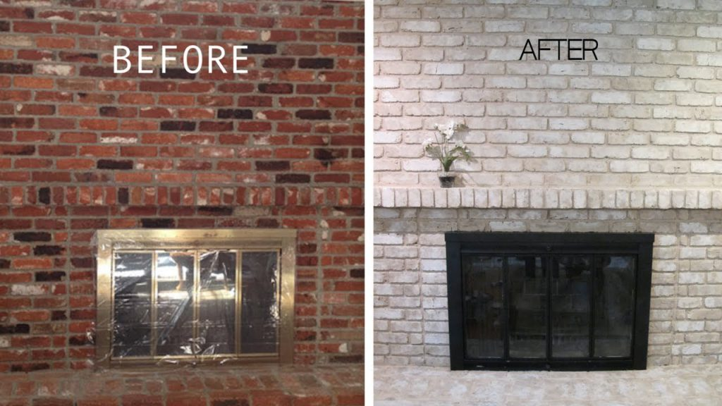 Painted Brick Fireplace Years Later Real Interview Anew